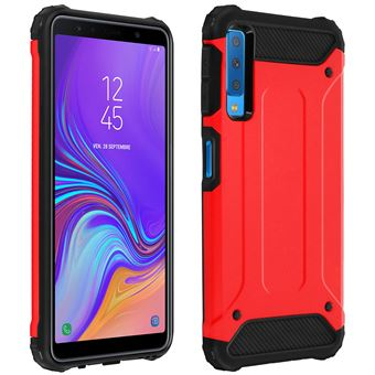 coque samsung galaxy a7 2018 rouge