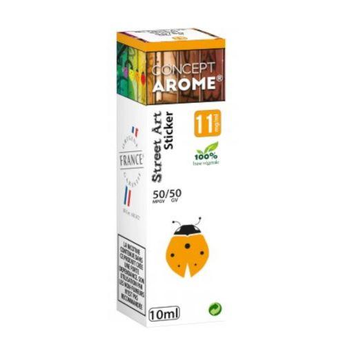 Conceptarôme - E-liquide Mixte Prenium – Sticker 11 mg.