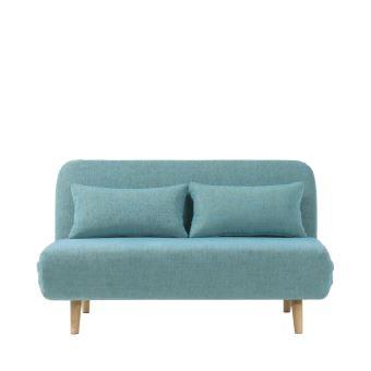 5 Sur Canapé Convertible Modulable 2 Places John Couleur Bleu