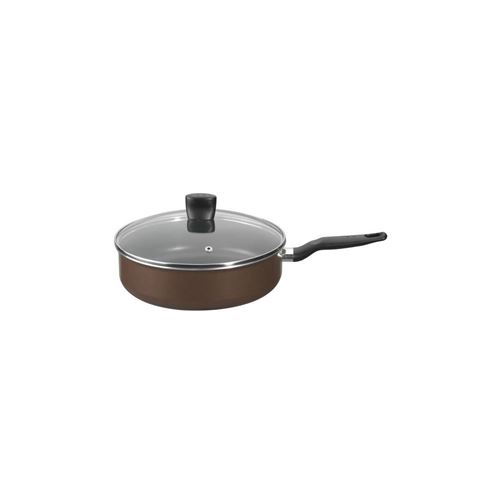 Tefal B3003202 - Sauteuse Avec Couvercle - O 24 Cm - Brownie - Gaz