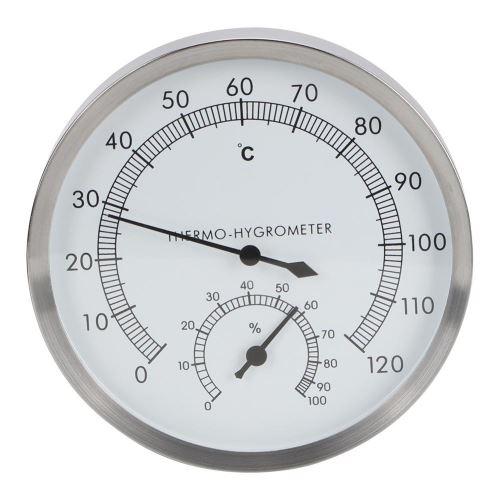 Thermomètre hygromètre pour hammam 2 en 1