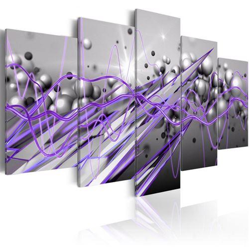 Artgeist - Tableau - Purple Strike 100x50