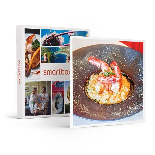 SMARTBOX - Menu Lyrique 3 plats pour 2 personnes avec champagne et caviar à partager - Coffret Cadeau