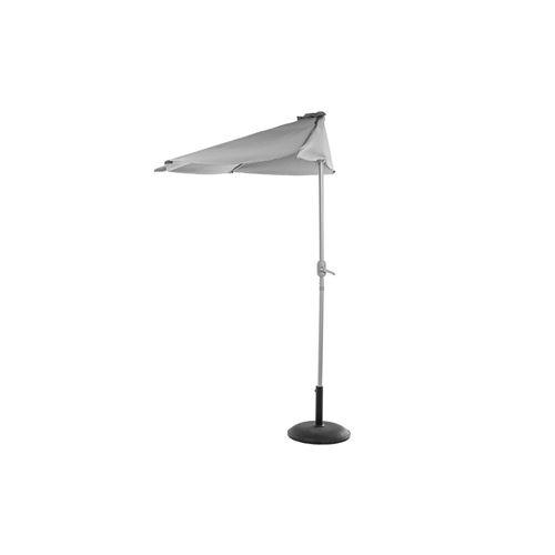 Demi parasol Serena - Diam. 2,65 m - Gris