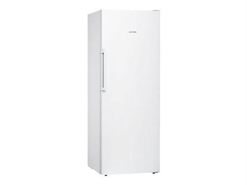 Siemens iQ300 GS29NVW3P - Congélateur - congélateur-armoire - pose libre - largeur : 60 cm - profondeur : 65 cm - hauteur : 161 cm - 200 litres - Classe A++ - blanc