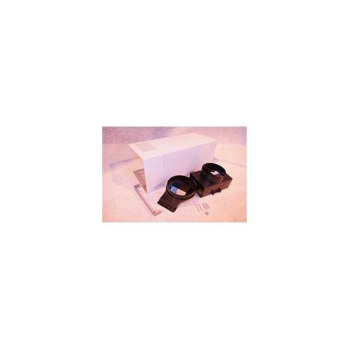 Kit cheminee x2 +deflecteur + raccord pour hotte whirlpool inox