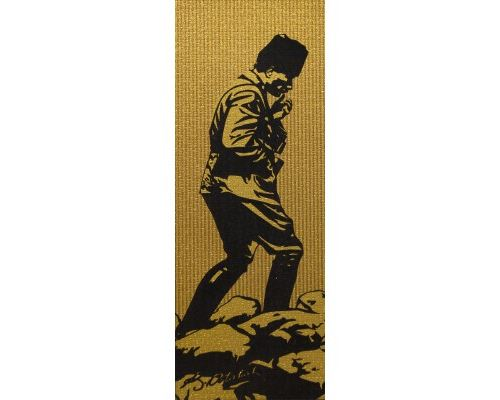Puzzle 1000 Pièces : Mustafa Kemal Atatürk - Pièces Dorées et Floquées, Art Puzzle