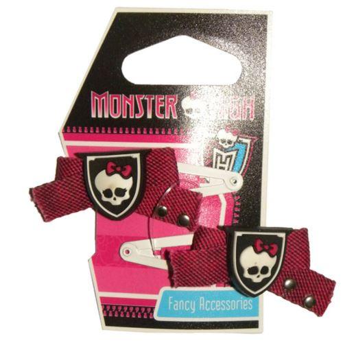 Set de 2 pinces clic clac Monster High