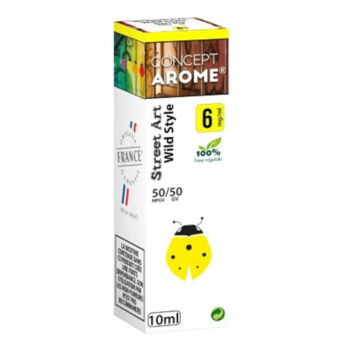 Conceptarôme - E-liquide Mixte Prenium – Wild Style 6 mg.