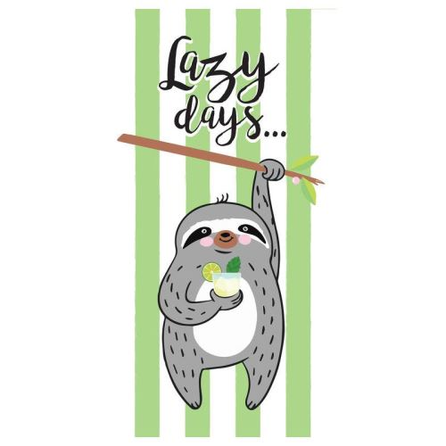 Serviette Lazy Days Microfibre