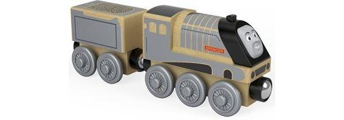 Thomas et ses amis locomotive en bois Spencer, jouet pour enfant 2 ans et plus, FHM42