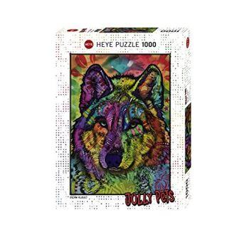 Puzzle Heye Âme du loup 1000 pièces