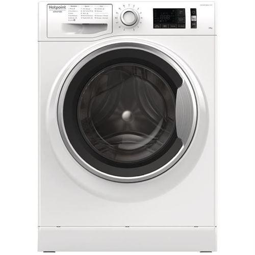 Hotpoint Ariston NM11 1045 WS A FR - Machine à laver - indépendant - largeur : 59.5 cm - profondeur : 60.5 cm - hauteur : 85 cm - chargement frontal - 71 litres - 10 kg - 1400 tours/min - blanc