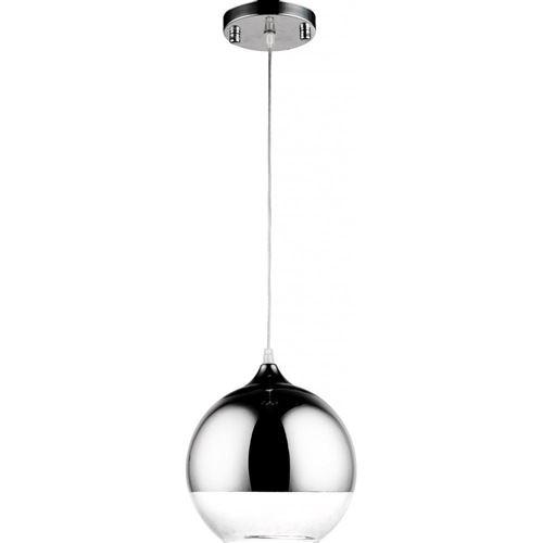 Lampe Suspension Reflexion - 40 cm - Métal Chromé