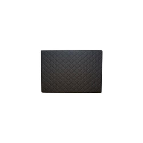 Tête de lit Chester REVANCE - Simili cuir Noir - 140 cm
