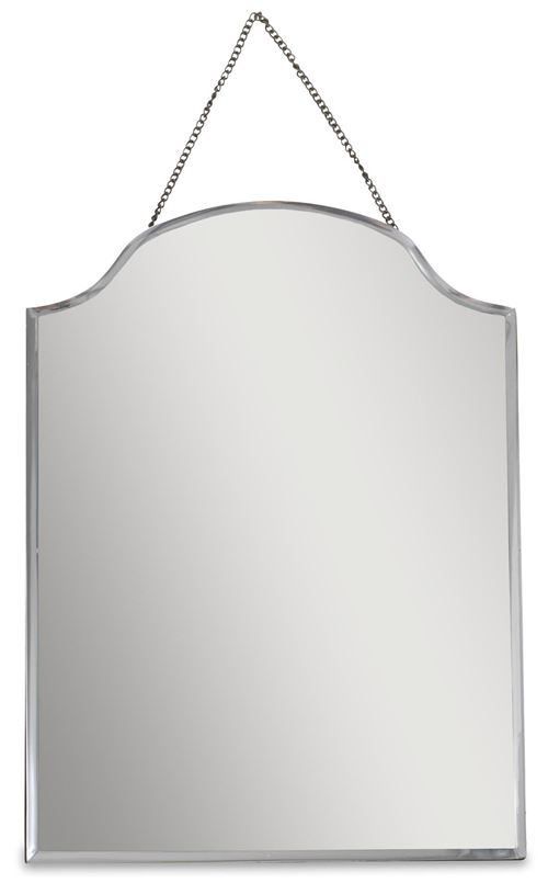 Nkuku - Miroir vintage chainette en zinc