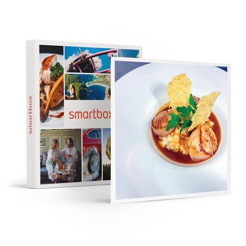 SMARTBOX - Prestation de 4h par un chef cuisinier d'un menu Gourmet à domicile pour 2 - Coffret Cadeau
