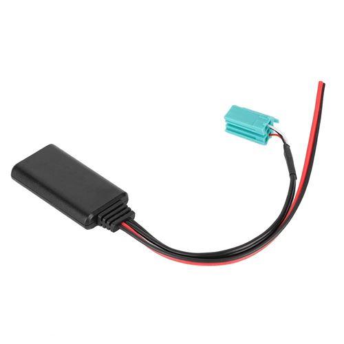 Câble audio Aux-in de câble radio stéréo Bluetooth sans fil audio pour Renault Clio 2005-2011