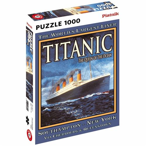 Puzzles Titanic Puzzle-TITANIC-PIATNIK-Multicolore