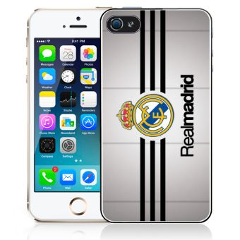 Coque pour iPhone 5C real madrid bandes