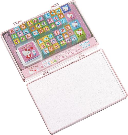 Contact stamp set ABCDE Hello Kitty (japan import)