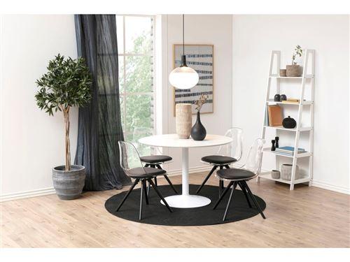BOBOCHIC Table à manger 110 cm POCKET Blanc