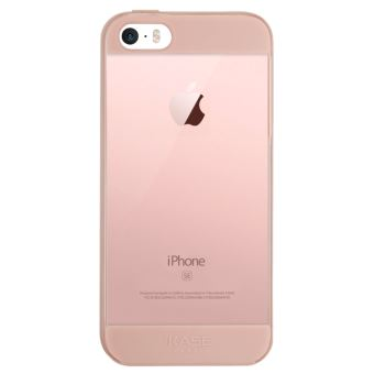 Air Coque de protection pour Apple iPhone 5 5s SE Or rose The Kase Paris