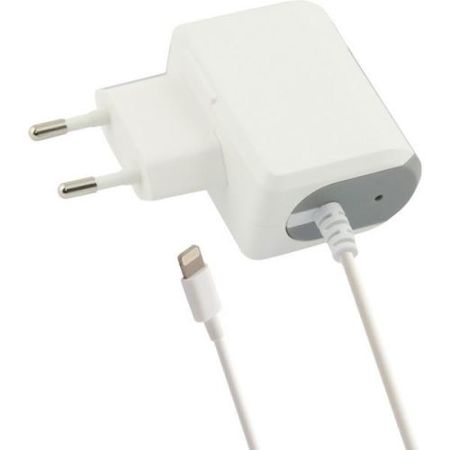 Chargeur mural Lightning 1a blanc iPhone