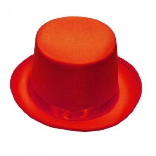 Rubie's chapeau haut-de-forme unisexe rouge
