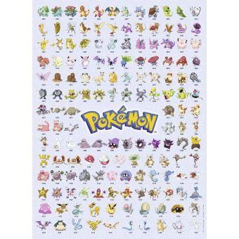 Puzzle Pokemon Pikachu Mewtwo Dracaufeu 500 Pieces