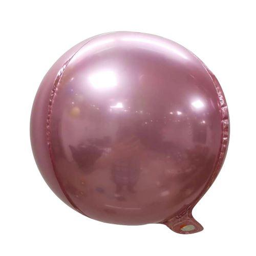 10 pcs Ballons en Aluminium 10 Pouces pour Noël Soirée Maison Jardin Fete Mariage - Rose