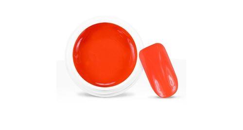 Gel uv / led couleur néon orange corail - 5 ml