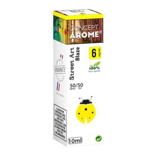 Conceptarôme - E-liquide Mixte Prenium – Blaze 6 mg.