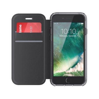 Etui Folio Griffin Survivor Clear pour iPhone 7 Plus 6s Plus 6 Plus Noir 93ce298c5eae