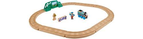 Thomas et ses amis coffret construction en bois 5-en-1, jouet pour enfant 3 ans et plus, FHM64