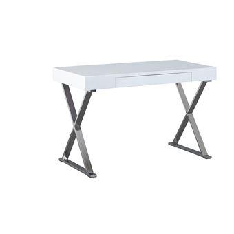108u20ac Sur Bureau Meuble Informatique Tiroir Rectangulaire Design Moderne  BLANC BRILLANT   Achat U0026 Prix | Fnac