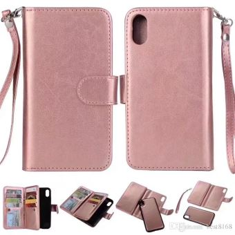 coque iphone 8 cuir rose