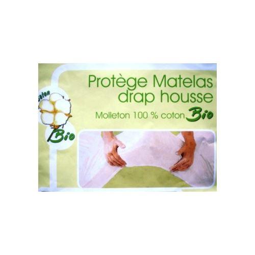 Protège matelas absorbant coton bio natura 160x200