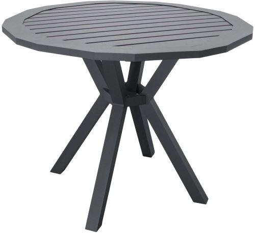 Hevea - Table de jardin en aluminium Ayma 110 cm