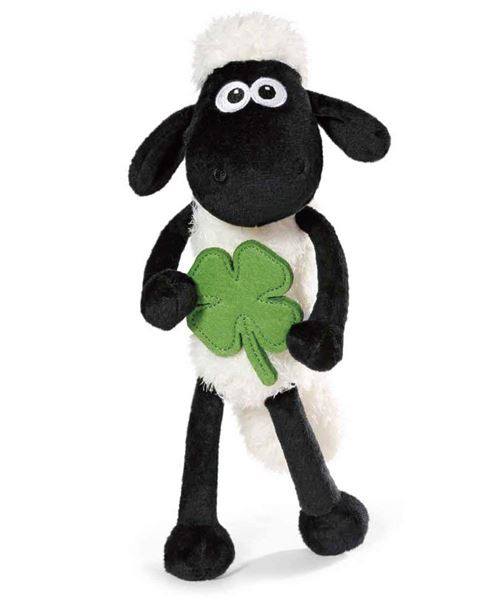 NICI 40666.0 – Shaun Le Mouton avec trèfle 25 cm