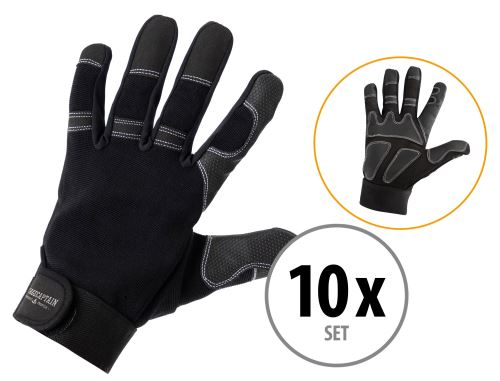 Set de 10 Stagecaptain Rigger gants L longs