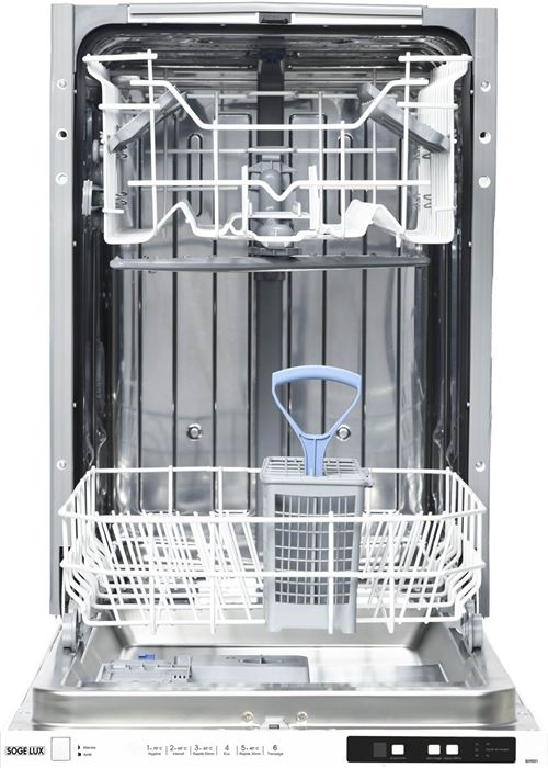 SOGELUX Lave vaisselle SLVI551 encastrable - 45 cm - A++