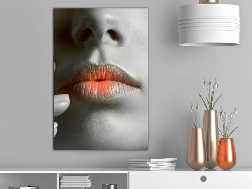 40x60 Tableau Femme Personnages Superbe Hot Lips (1 Part) Vertical