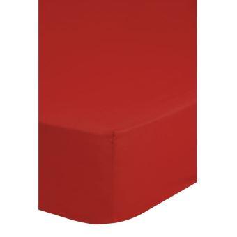 couvre lit 180 x 200 Emotion Drap housse sans repassage couvre lit 180 x 200 cm Rouge  couvre lit 180 x 200