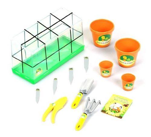 Serre de jardinage enfant avec outils et accessoires - klein
