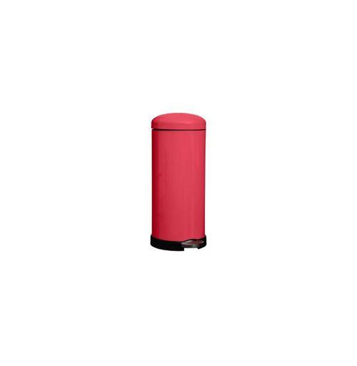 Poubelle à Pédale Colors 30L Rouge