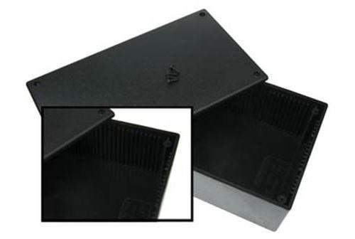 Coffret plastique noir 200 x 110 x 65mm