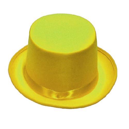 Rubie's chapeau haut-de-forme unisexe jaune