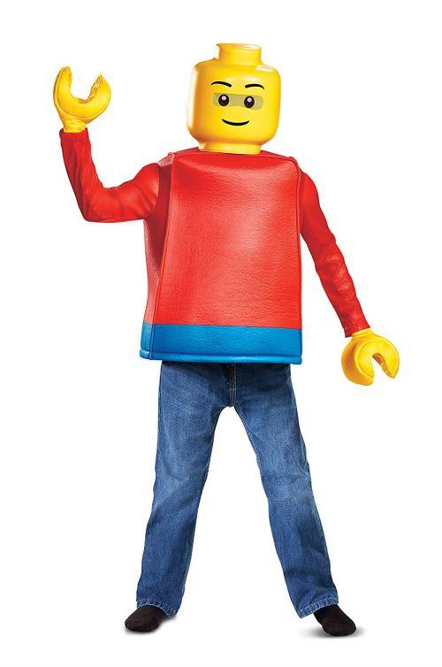 LEGO- Classique Déguisement, DISK14251L, Homme, Petit