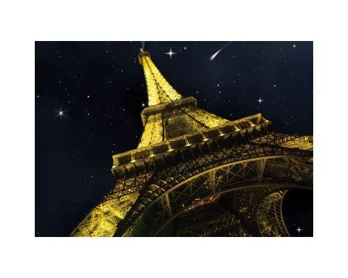 Puzzle 1000 Pièces : Puzzle Néon - Tour Eiffel, Fais un Voeu, Art Puzzle